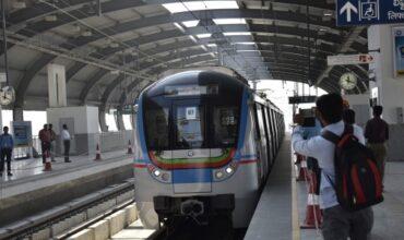 Hyderabad Metro rail all Women station