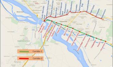 Vijayawada Metro Route Map