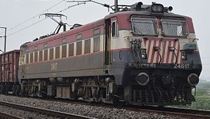 WAG-7 Class Locomotive